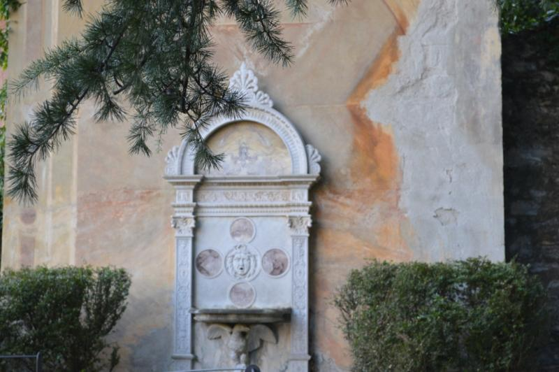 Garden fountain from the early 1800s