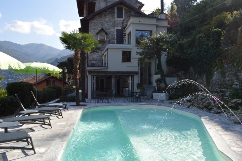 Back of Villa and Pool area