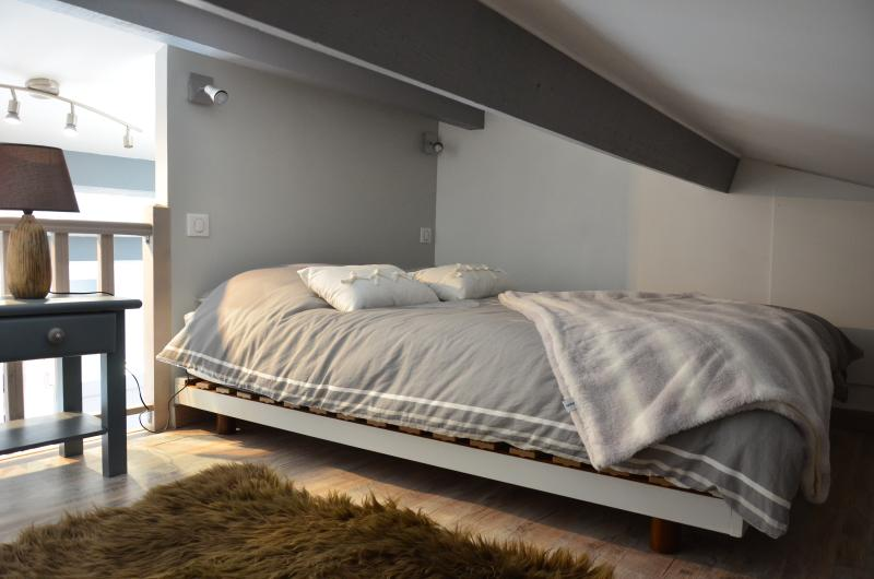 La mezzanine un espace nuit confortable