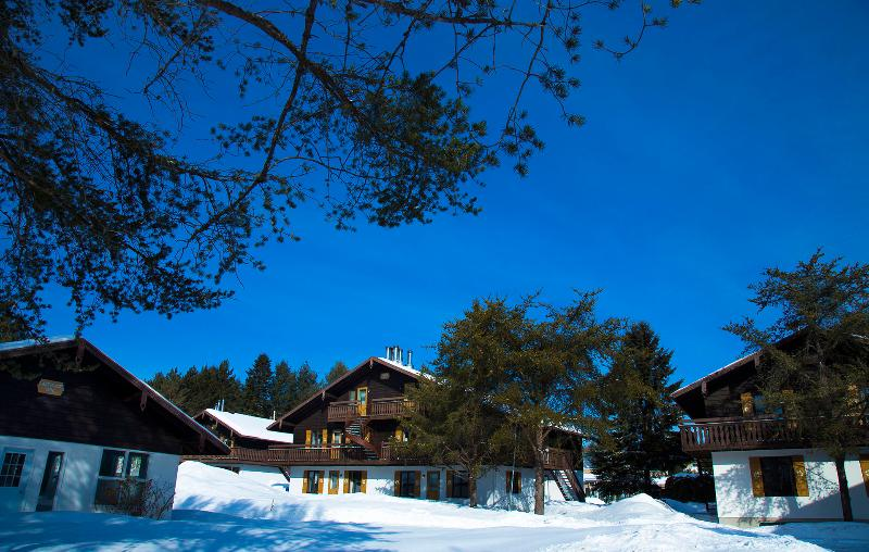 Winter at Chalets Montmorency.