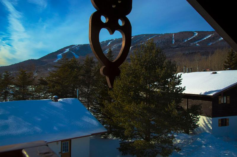 View from our balconies.