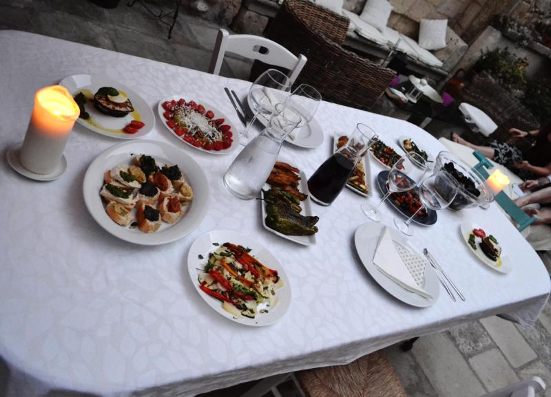 Dinner. Salento Guesthouse Bed and Breakfast