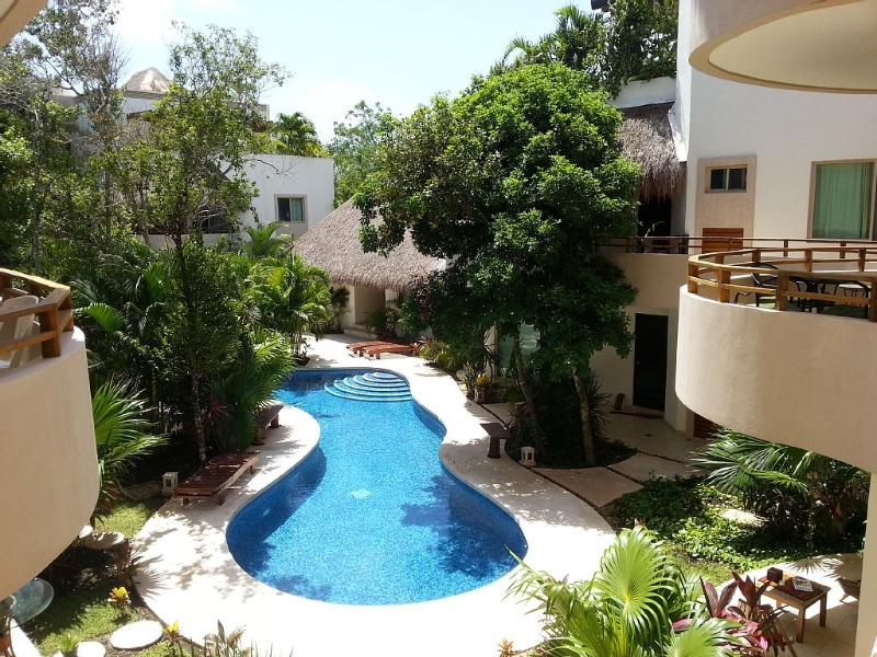 March and April dates in sunny Tulum - Mariposa Azul w/2 bed. Minutes to beach, vacation rental in Tulum