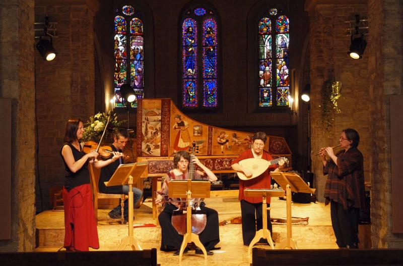 Festival of Baroque Music in the Rougemont Romanesque church.