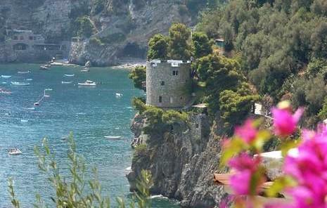 Torre Trasita, dimora storica del '500 sulla spiaggia di Positano