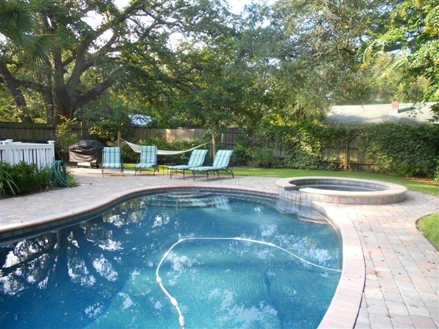 Backyard Private Pool and Patio