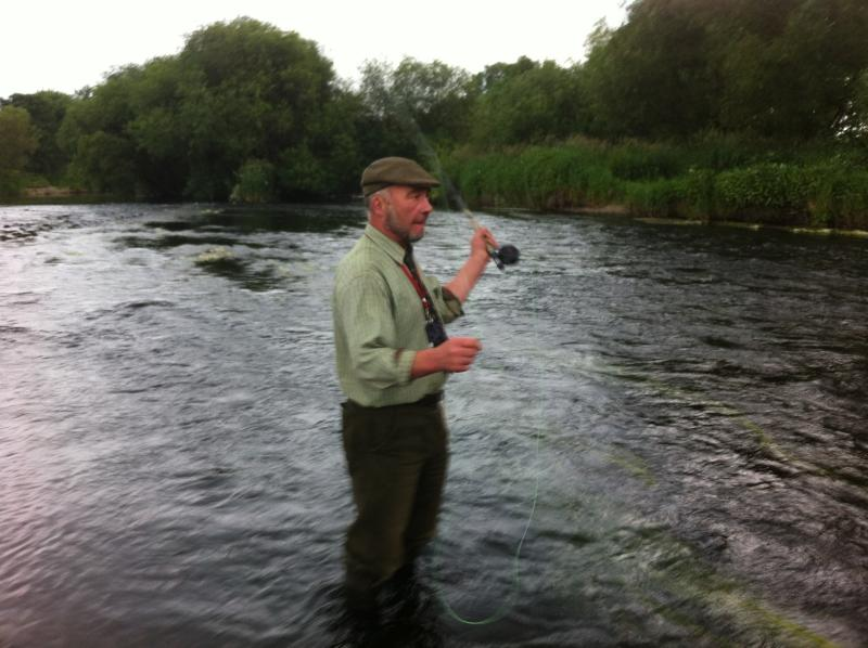 Fantastic fishing on the blackwater - people come from all over the world