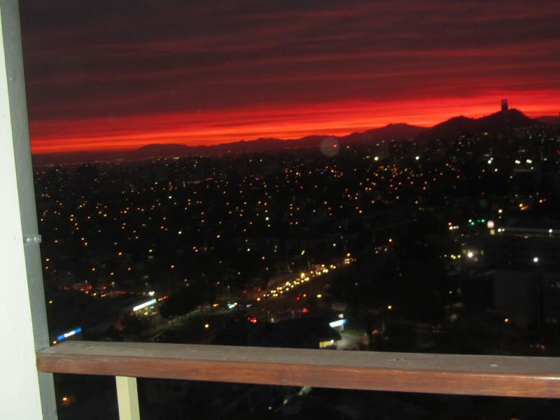 Belle vue depuis la terrasse