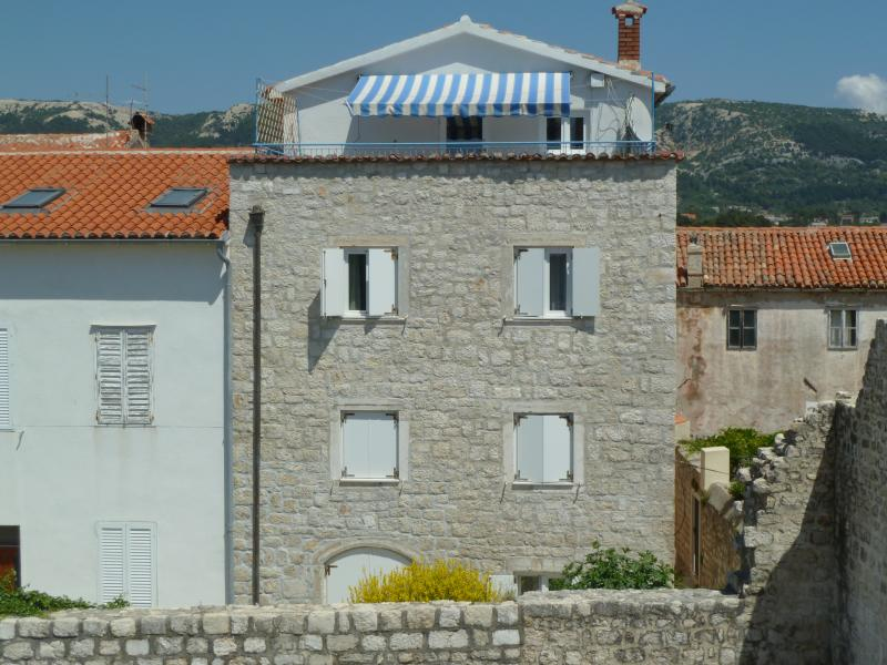 Rab old town apartment