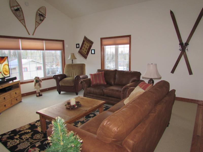 Living Room. Looking north and east (at the backside of Arapahoe Basin).