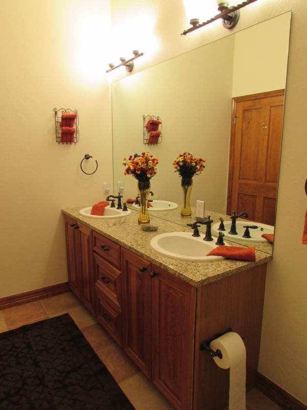 Master Bath.  Two Sinks