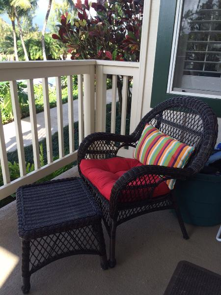 Sit on the lanai and enjoy a cocktail!