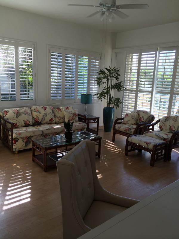 Light filled spacious living room
