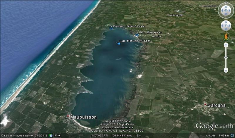 Hourtin: lago, mar e uma Vilage tradicional