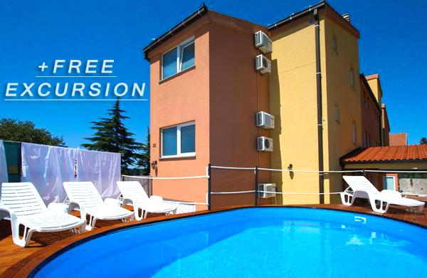 Solaris Apartment 7 with shared Pool, vacation rental in Sveti Filip i Jakov