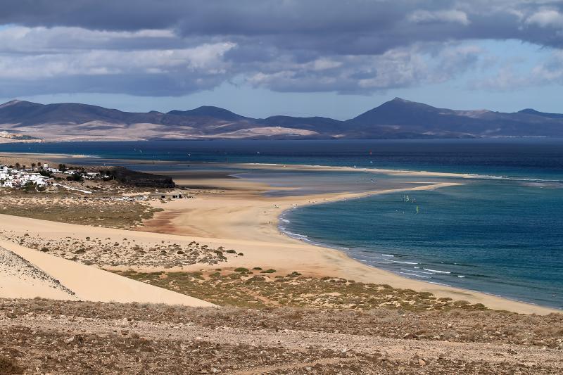 Long golden beaches of Sotavento