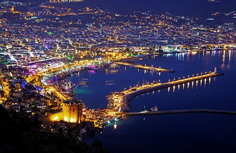 Private apartment in Gold City Alanya, holiday rental in Alanya