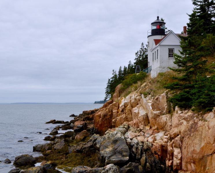 Bass Harbor Lighthouse is about 4 miles from the property.