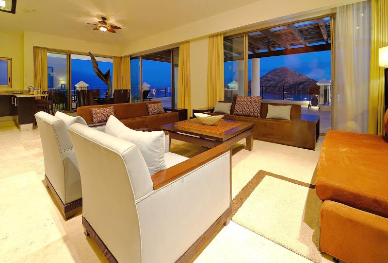 Relax and take in the stunning ocean view from any of the terraces in the Two-Bedroom Penthouse.