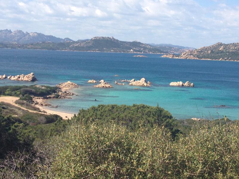 Beautiful sea at Porto Rafael & Archipelago La Maddalena