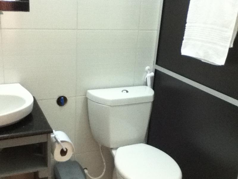 Banheiros das suítes