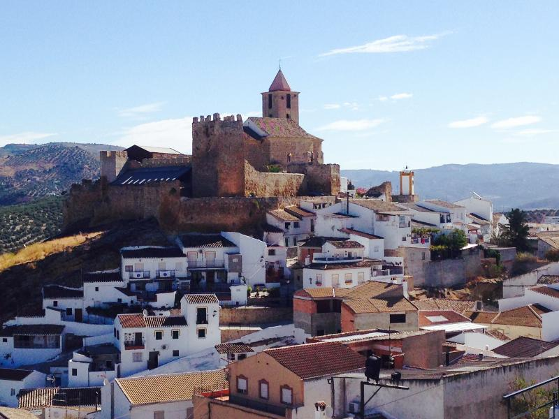 Castle overlooking the town of Iznájar, about 15 minutes' drive from Cortijo La Presa