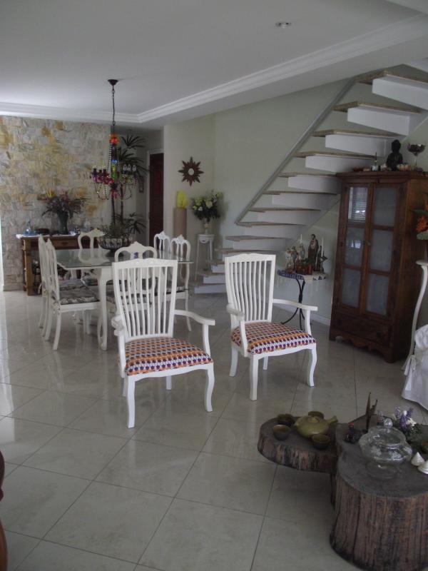 Sala principal em dois ambientes