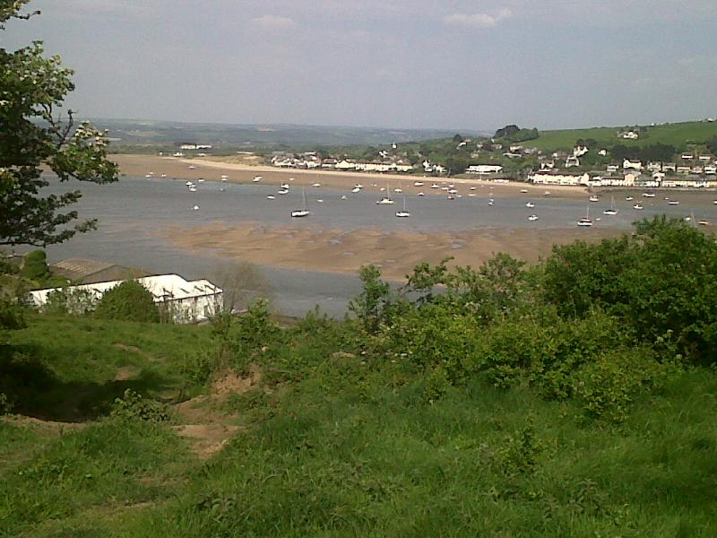 take a walk to the fields above the village and the northdevon coast path