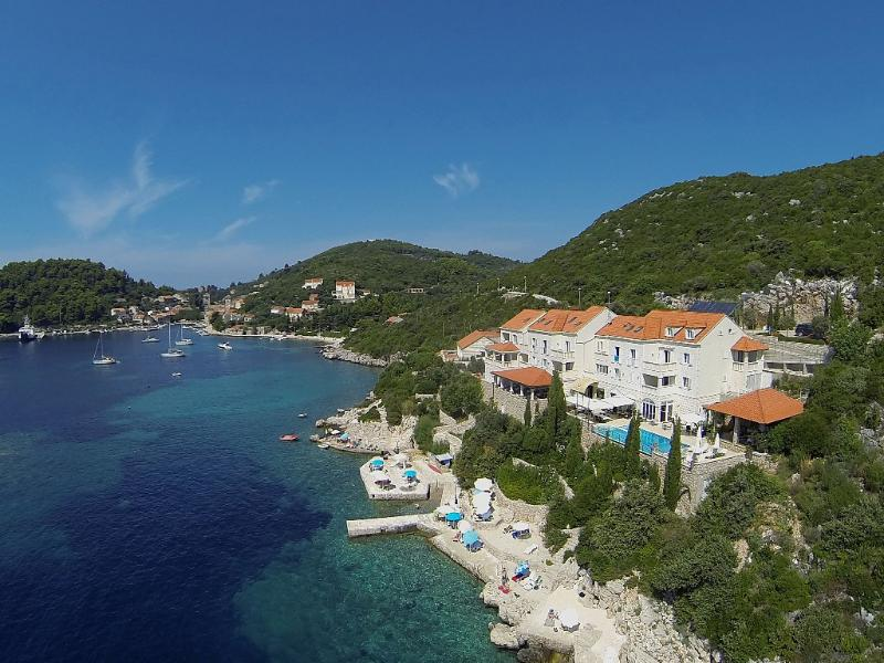 Hotel Bozica - Sea Goddess. Private beach and private jetty. The best sea view ever!!!