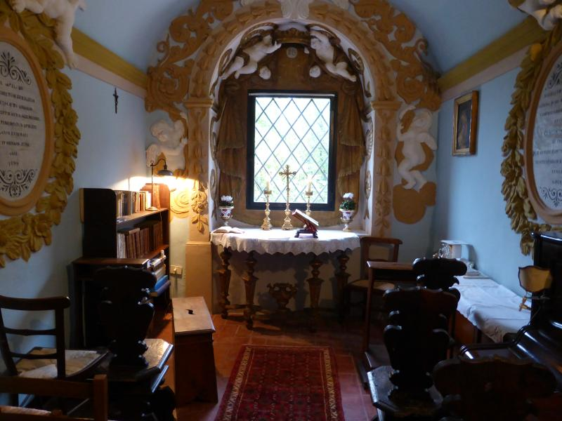The Chapel in the main house.