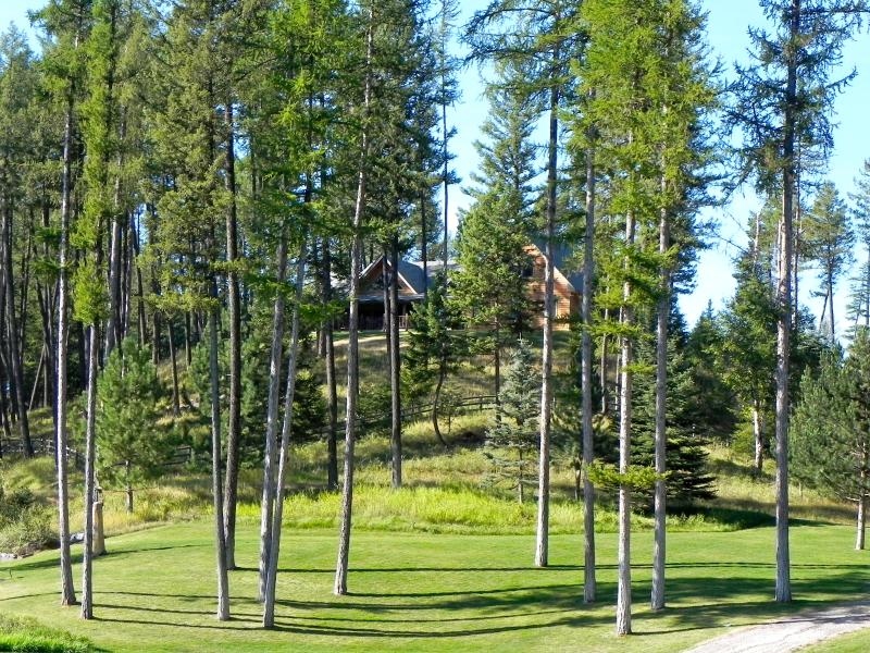 HILL TOP PERCHED HOME set among the trees, lakes and majestic mountain views of Montana