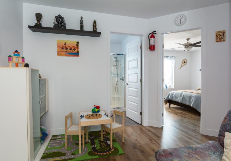 Salon, espace enfant