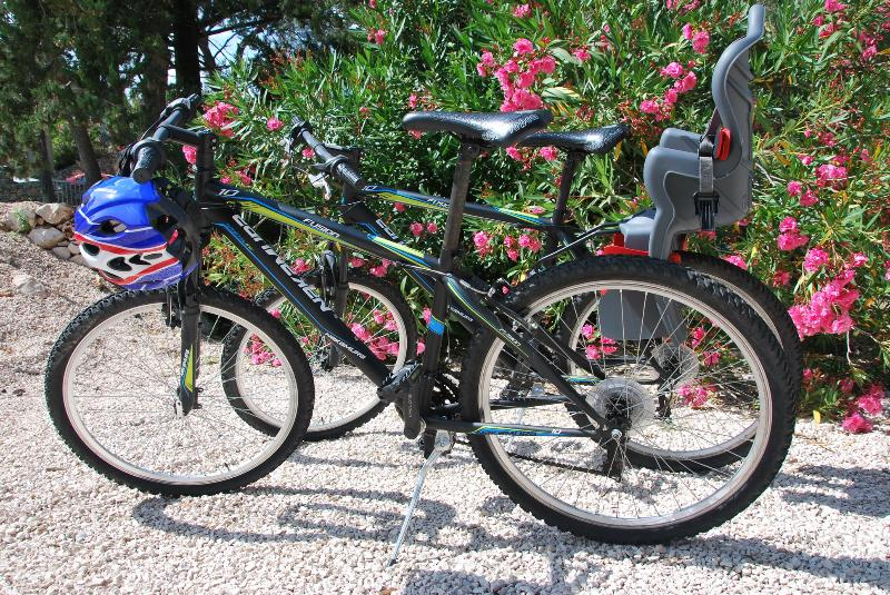we have 6 bicycles which you can rent free of charge