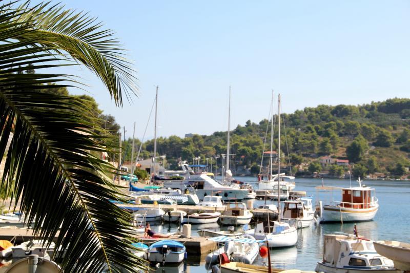 Little fishing harbour Rogac