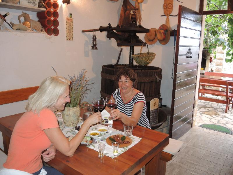 Local wine and olive oil tasting