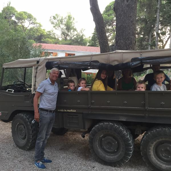 Off road Island excursion with our Puch Pinzgauer - all terrain vehicle