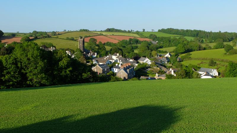 Our house is 300m out of Harberton surrounded by beautiful Devon hills and woods.