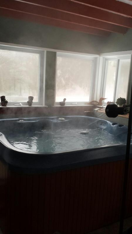 Hot Tub for those cold winter nights