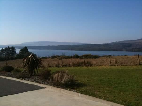 Breathtaking views on an elevated 2 acres of land the picture-sq Lough Macnean seen from the house.