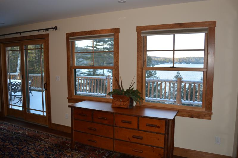View of lake from Master Suite.