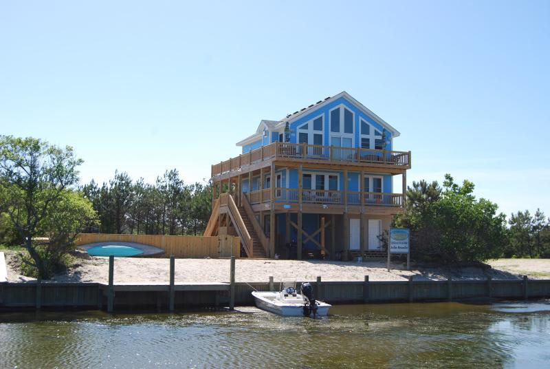 Unser Haus ist im Wild Horse Sanctuary im 4WD-Bereich, Pool, Whirlpool, Kajaks auf dem Kanal