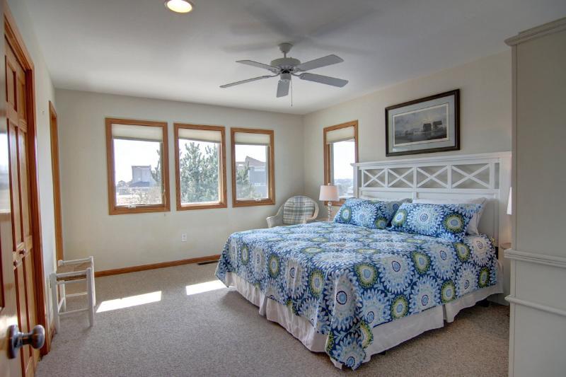 Master Suite met kingsize bed