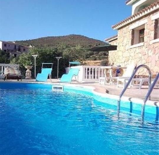 piscina vista panoramica sul mare