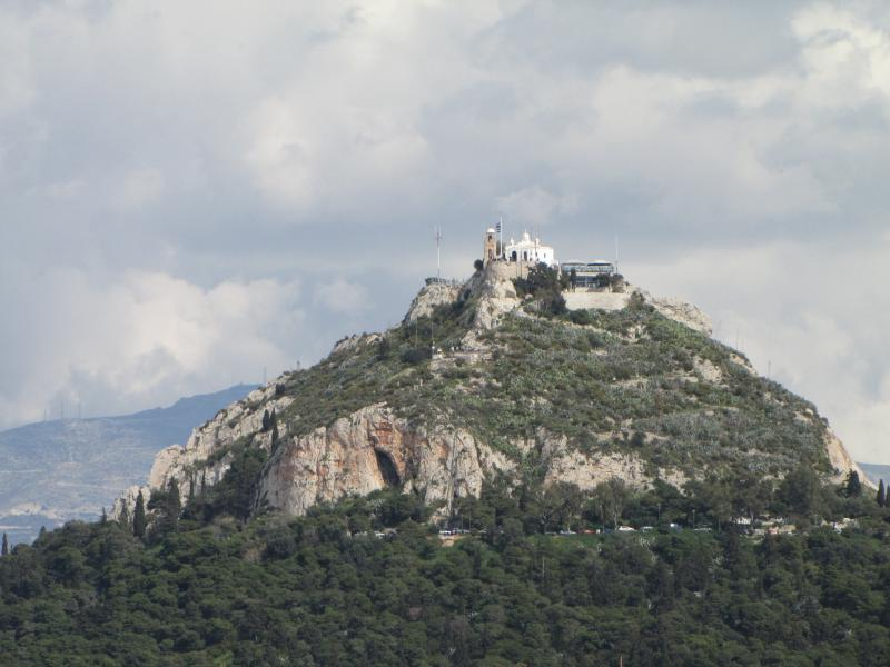 Lycabettus Hill.