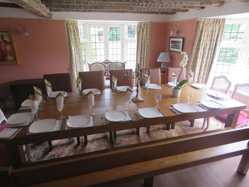 Large dinning Room Table. Seats unto 16. Home Farmhouse Worcestershire