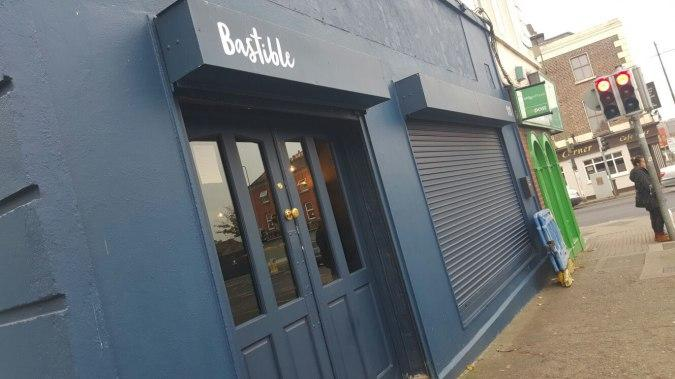 bastible restaurant around the corner . must book it , very good