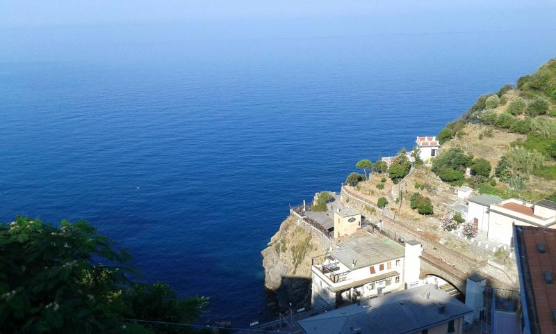 Apartment withTerrace on the sea, vacation rental in Riomaggiore