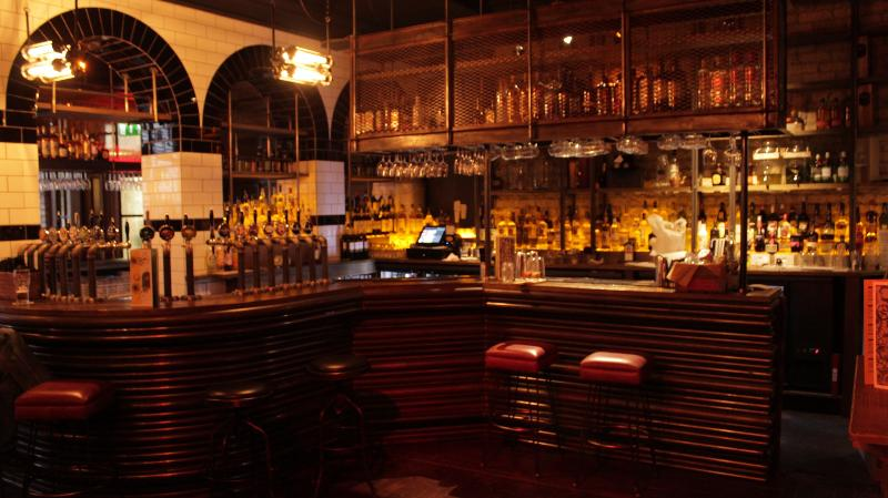 Camden exchange , 5 min walk , great beers , nice tapas