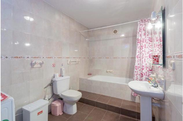 bathroom 3 (for bedrooms 4 & 5) basement