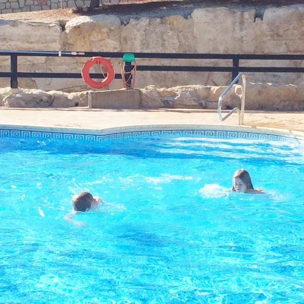 kids enjoying the pool